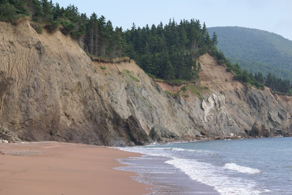 Four-Mile Beach, Cape Breton Island, Nova Scotia, Canada; By William J. Neal