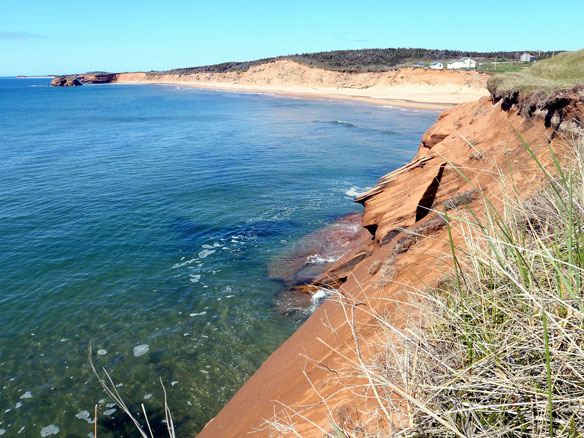 Magdalen Islands and Shoreline Erosion, Québec