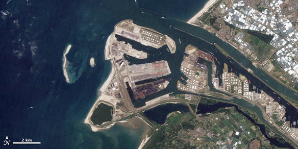 Rotterdam Land Reclamation