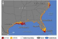 Rising Seas Will Affect Major U.S. Coastal Cities by 2100