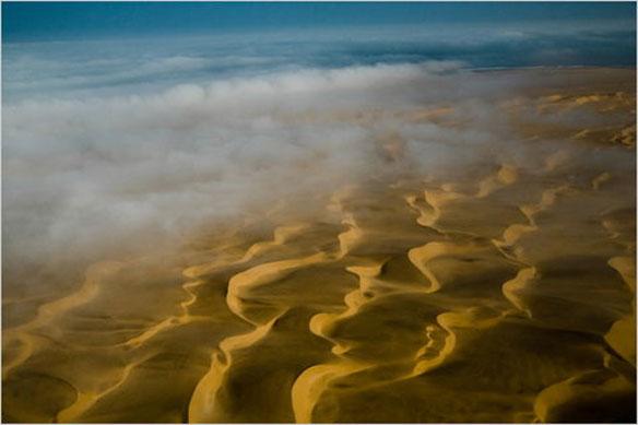 Whole coastline of Namibia is designated a national park