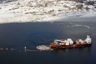 Cargo Ship Leaking Oil in Norway's Only Marine Reserve