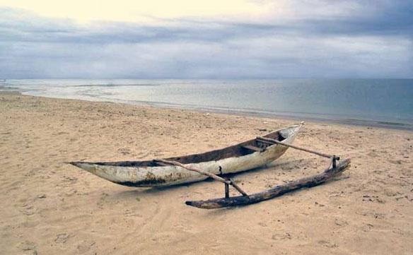 Pirogue Polynesie