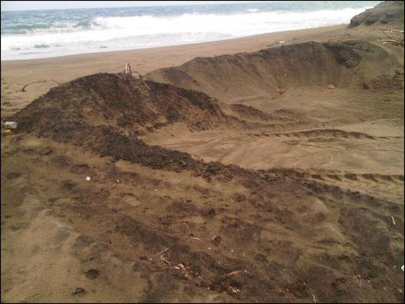 St Kitts Illegal Sand Mining