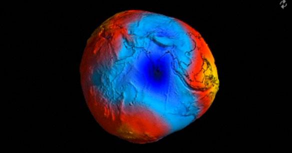 Earth's Gravity Revealed in Unprecedented Detail