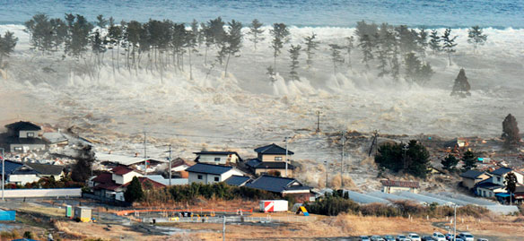 Massive Quake triggers devastating Tsunami, Japan