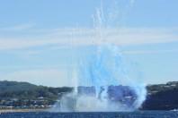 Adelaide Sinks Off Avoca Beach, Australia