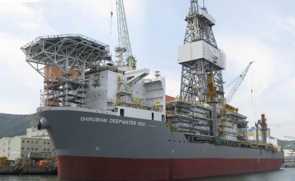 drilling-boat