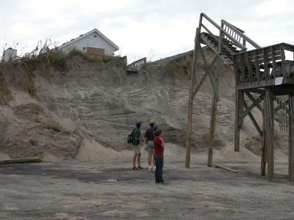 Nags Head Beach Erosion