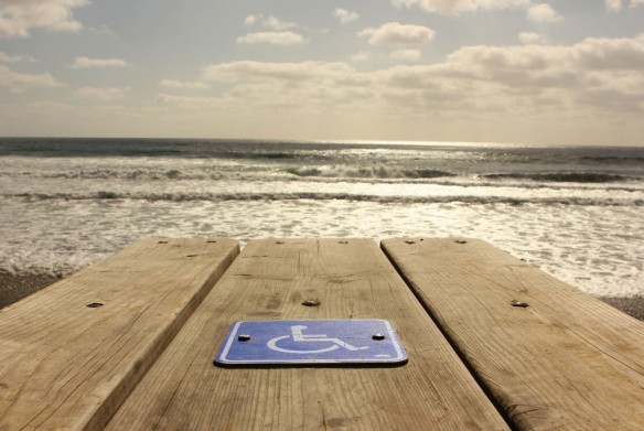 wheelchair-beach