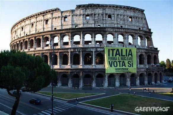 italia nuclear greenpeace
