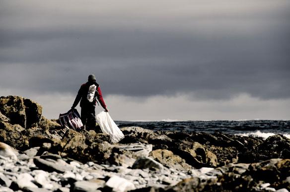 Johnny Abegg Tasmania Marine Debris
