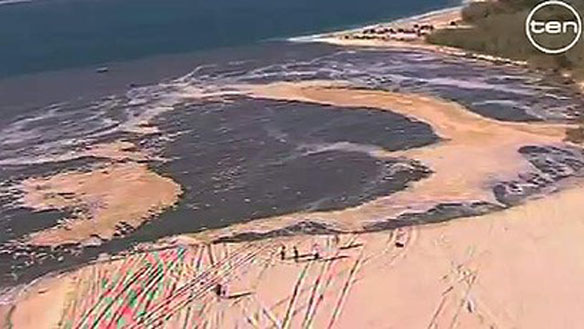 sinkhole beach