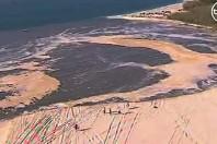 Sinkhole Swallows South-East Queensland Beach