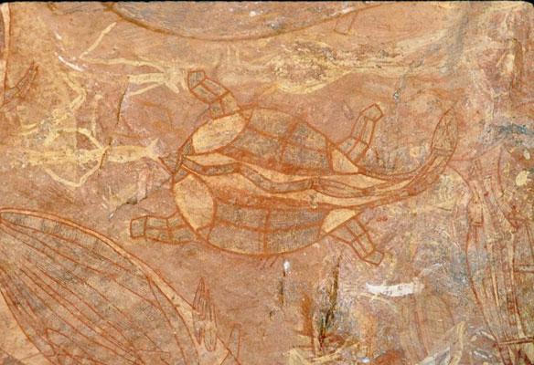 ubirr-rock-art-sea-turtle