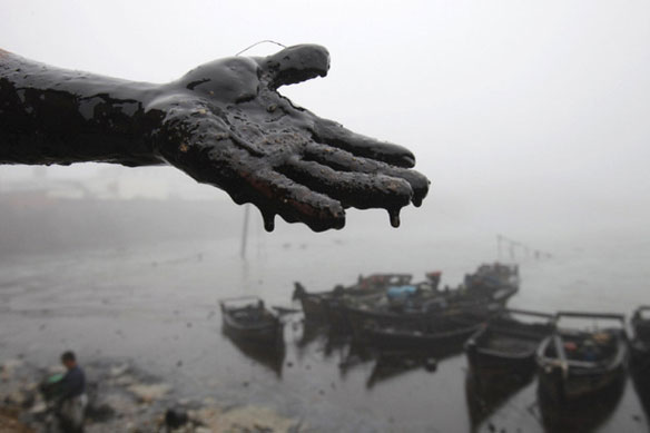 China's Northeast Coast: A Second Oil Spill