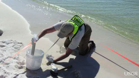 usgs sediment sampling