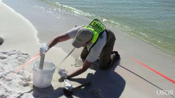 usgs sediment sampling