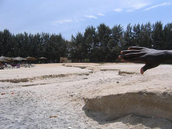 africa beach erosion