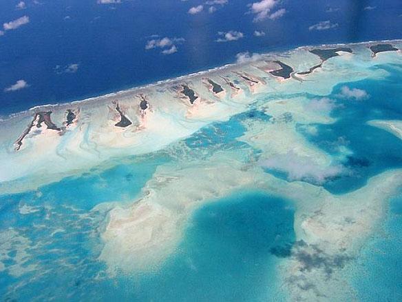 Kiribati ponders floating island to fight sea rise