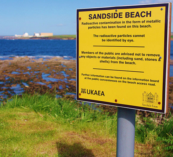Scottish Nuclear Fuel Leak Will Never Be Completely Cleaned Up
