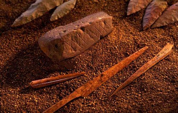 artifact blombos cave
