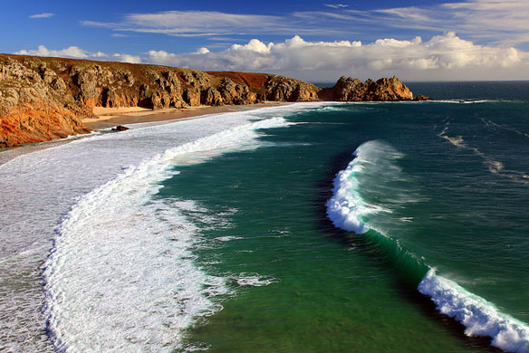 Cliff Collapse Due To Coastal Erosion, A Video