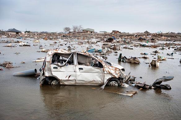 Tsunami Debris Found 3,000 km From Japan Coast