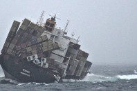 Oil-slick Ship At Risk Of Breaking Up: Release  Of a New Tide Of Oil Feared
