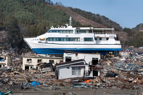 Fukushima Earthquake Moved Seafloor Half a Football Field