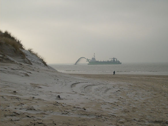 Dutch Unveil Plan In War Against The Sea: A Sandbar