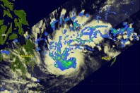 Typhoon Causes Destructives Flashfloods and Casualties, Southern Philippines