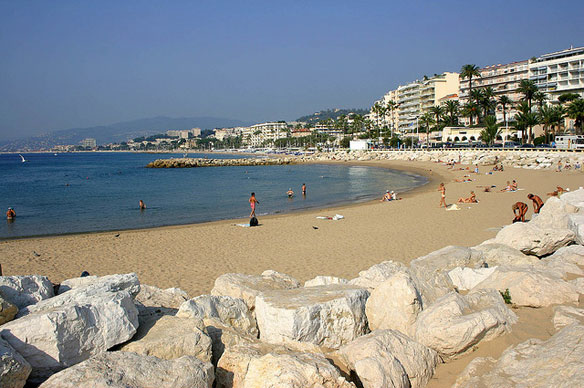 Cannes' Latest Beach Replenishment Project