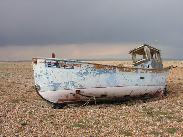 Dungeness's strange beauty under threat from shingle plan