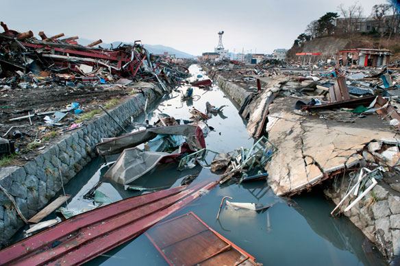 Japan Clears up Only 5% of Tsunami Rubble