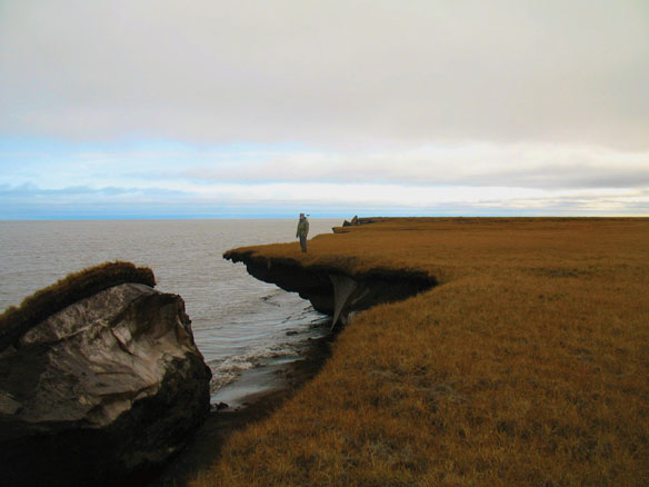 permafrost erosion