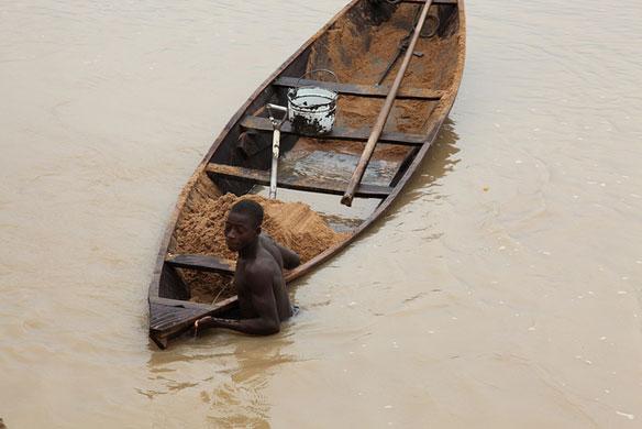 sand dredging nigeria