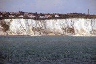 White cliffs of Dover suffer large collapse, UK