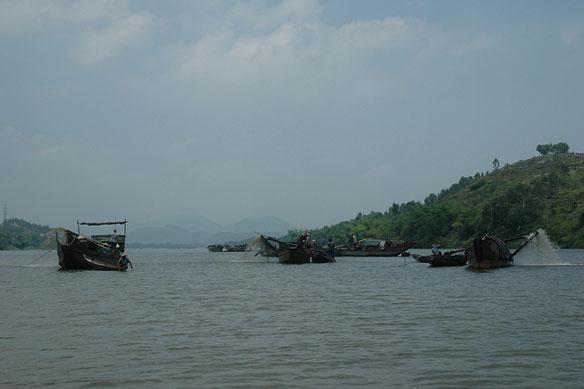 Illegal Dredging Causes Major Problems, Vietnam