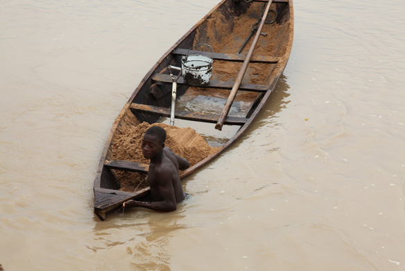 Sand Mining Throughout Coastal Liberia