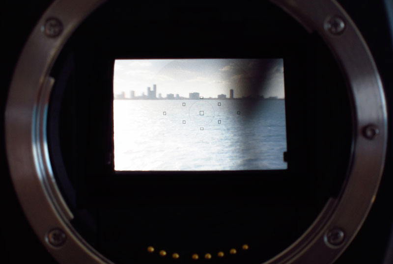 Miami City's Skyline, Through the Reflex System of a Camera ; By Marc Martinez Sarrado