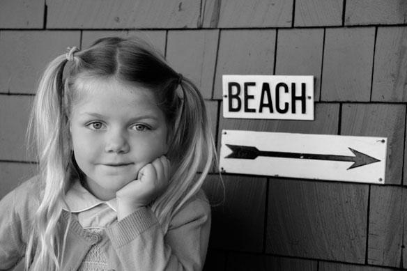 To The Beach; By Nakisa Herrick