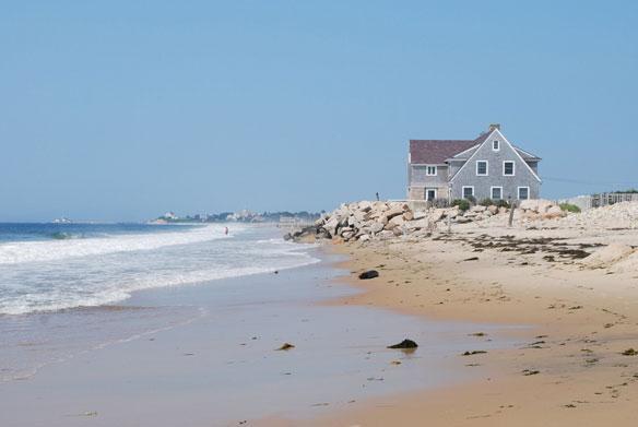 Rhode Island's Eroding Coast: A Serious Problem