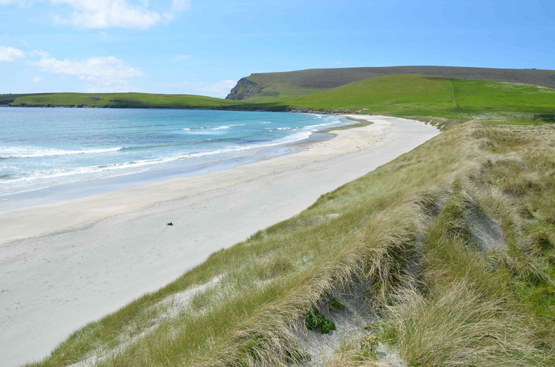 Quendale Beach, Shetland Islands, UK; By Joe Kelley