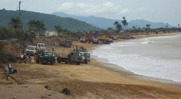 Destroying Paradise To Make Concrete Blocks: Sand Mining In Sierra Leone