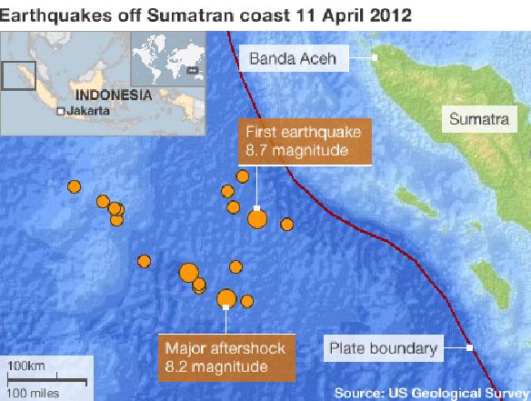 Sumatra Quake in April Tied to Sea Floor Changes