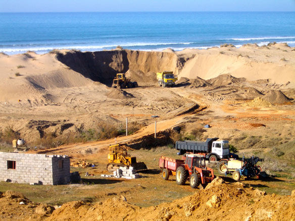 Sand mining: The High Volume – Low Value Paradox