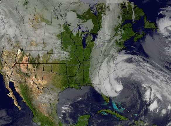 Dire Forecast as Hurricane Sandy Approaches US Coast