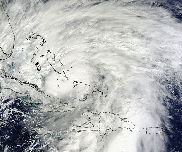 Sandy slams Cuba; 'high impact' likely in US Northeast