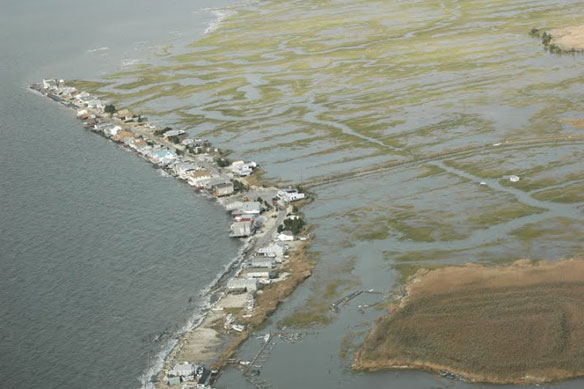 Post Sandy: Aerial Images of VA, MD, DE and NJ (south of Atlantic City)